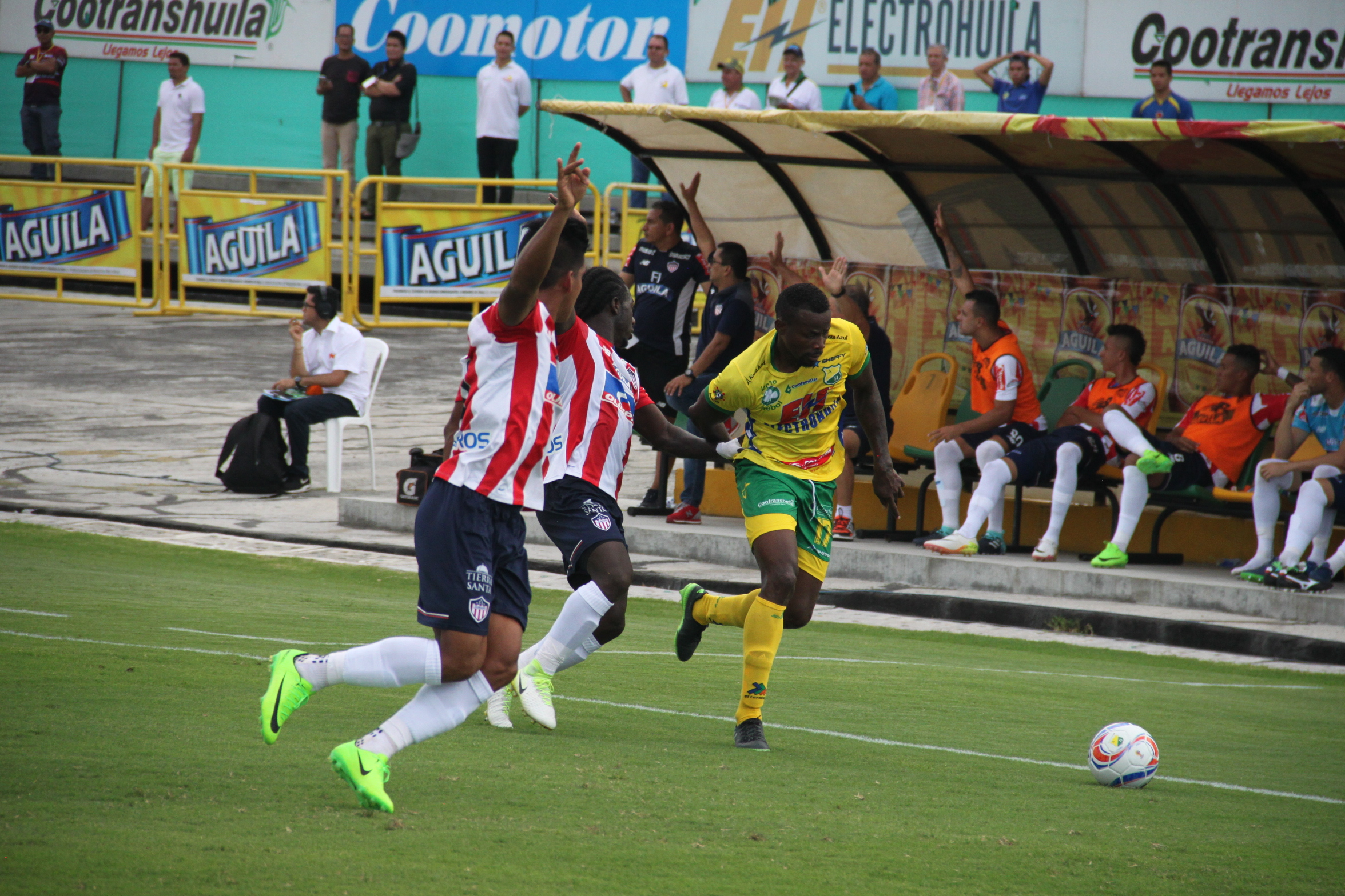 Atlético Huila 1-1 Junior  27-08-2017